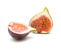 Ripe purple fig fruit Royalty Free Stock Photography