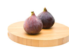 Ripe purple fig fruit Stock Image