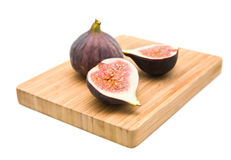 Ripe purple fig fruits Royalty Free Stock Image