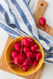 Ripe radish in a bowl Royalty Free Stock Image