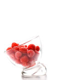 Ripe raspberries Stock Photo