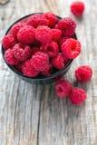 Ripe raspberries. Stock Images