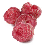 Ripe raspberries closeup Stock Image