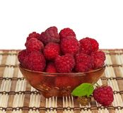 Ripe raspberries Stock Photography