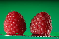 Ripe raspberries Royalty Free Stock Images