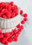 Ripe raspberries Royalty Free Stock Photos