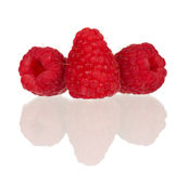 Ripe raspberry Stock Photo