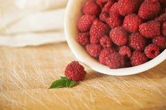 Ripe raspberry Royalty Free Stock Photo
