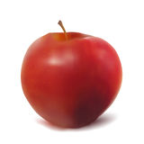 Ripe red apple. Stock Photos
