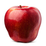 Ripe red apple Stock Photos