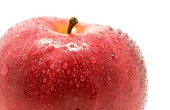 The Ripe red apple. Royalty Free Stock Photography