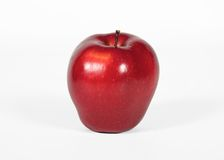 Ripe red apple Royalty Free Stock Photo