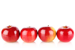 Ripe red apple Royalty Free Stock Photos