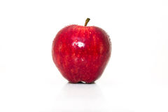 Ripe red apple.  Royalty Free Stock Photo