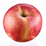 Ripe red apple. Isolated on white background. Royalty Free Stock Photo