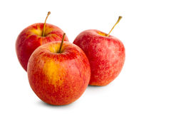 Ripe red apple Royalty Free Stock Images