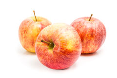 Ripe red apple Royalty Free Stock Image