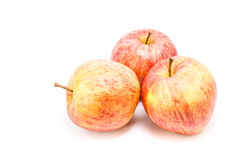 Ripe red apple Stock Images