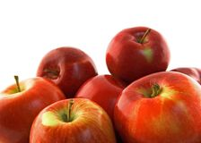 Ripe red apples Royalty Free Stock Image