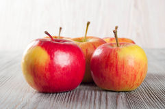 Ripe red apples Stock Photography