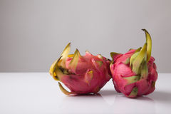Ripe red dragon fruit Royalty Free Stock Photography