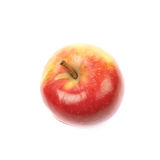 Ripe red and golden jonagold apple Stock Images