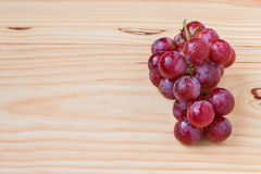Ripe red grape isolated. Royalty Free Stock Images