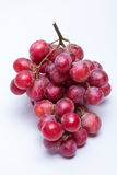 Ripe red grape. Isolated on white Royalty Free Stock Photography
