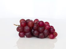 Ripe red grape isolated. Stock Image