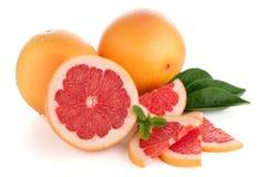 Ripe red grapefruit Stock Photos