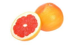 Ripe red grapefruits Royalty Free Stock Photos