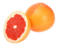 Ripe red grapefruits Stock Photography