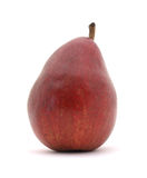 Ripe red pear Stock Image
