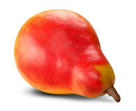 Ripe red pear Stock Photo