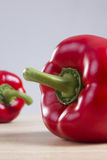 Ripe red pepper Royalty Free Stock Photos