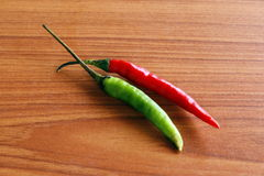 Ripe red peppers Royalty Free Stock Images