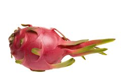 Ripe red pitaya fruit Stock Images