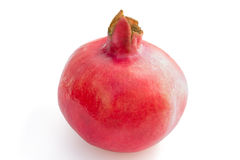 Ripe red pomegranate Royalty Free Stock Image