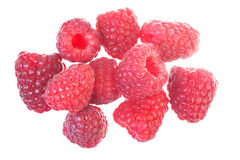 Ripe red raspberry. Stock Photo