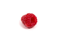 Ripe red raspberry Royalty Free Stock Photo