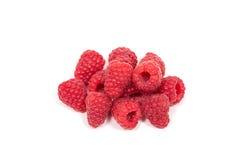 Ripe red raspberry Stock Photo