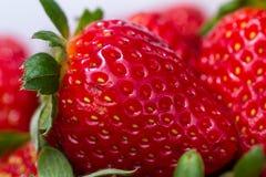 Ripe red strawberries Stock Photo