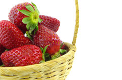 Ripe red strawberries Stock Photo