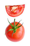 Ripe red tasty tomato Royalty Free Stock Photography