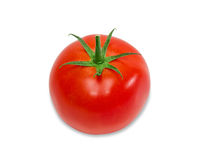 Ripe red tomato Stock Photos