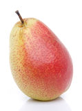Ripe red yellow pear Stock Photography