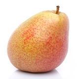 Ripe red yellow pear Stock Photo