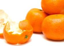 Ripe refined tangerine Stock Image