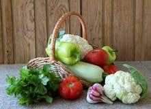 Ripe seasonal vegetables Royalty Free Stock Photography