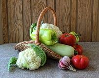 Ripe seasonal vegetables Stock Photography